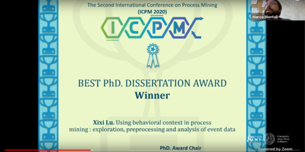 ICPM 2020 Best PhD. Dissertation award